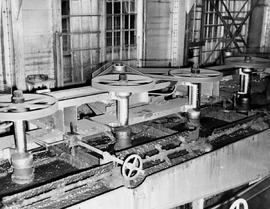 Tin plant; primary floatation machines; Cominco Sullivan Mine, Kimberley.