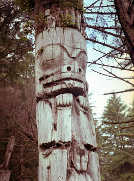 Totem Pole, Anthony Island Queen Charlotte Island