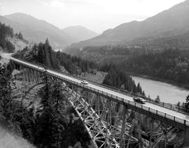 Bridge On The Trans-Canada Highway Near Lytton