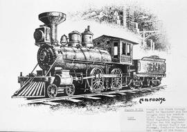 """Engine #374, first through train to Vancouver..."""