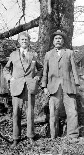 Noel Robinson and Louis Gabourie; photo taken in Duncan.