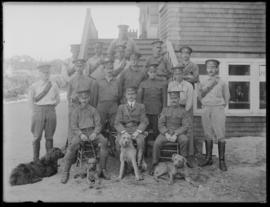 Officers of the British Columbia Horse (Canadian Mounted Rifles)