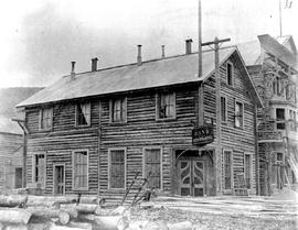 Bank of British North America, Dawson City; burned down in 1899