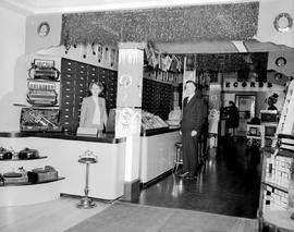 Interior of Fletcher's Music Store, Victoria
