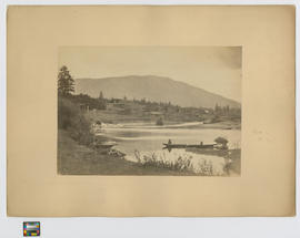Quamichan [Hul'qumi'num] Indian Village near to Cowitchan [sic] [Cowichan] east coast of Vancouver Island