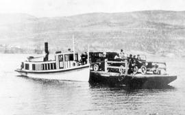 Ferry Aricia on the Westbank-Kelowna run