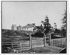 Government House, Cary Castle, Victoria; View From The Northwest.