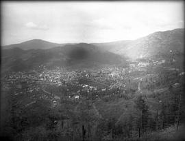 Rossland seen from Columbia Mountain.