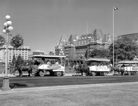 Tally-Ho And Empress Hotel, Victoria