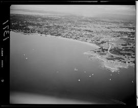 Aerial of Willows Beach, Oak Bay