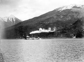 The SS Kokanee on an excursion to Kaslo.