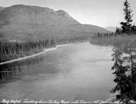 Prairie Mountain and the Finlay River.