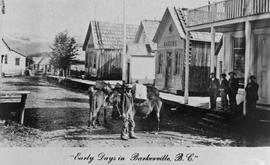 """Early Days in Barkerville, BC."""