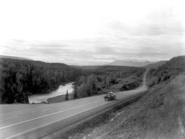 Highway 16 Between Moricetown And Hazelton