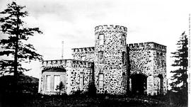 Cary Castle, original Government House, view from the northeast.