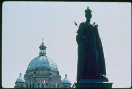 Victoria. Monument To Queen Victoria