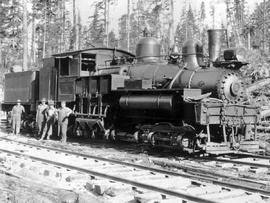 Bloedel, Stewart And Welsh Locomotive No. 5, Myrtle Point
