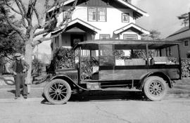 Chinese green grocers Model T Truck at 1610 Pinewood, Victoria