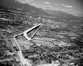 Vancouver, Aerial Of The Granville Bridge