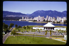 Planetarium, Museum, English Bay And The Skyline Of Vancouver