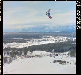 Snowkite Flying At Winterfest, Kimberley