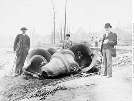 New Westminster; Holy Trinity Cathedral's Fire-Damaged Bells; Damaged In The Fire Of 10 Sep ...