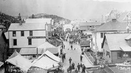 """Centre St. Prince Rupert Dominion Day Celebrations 1909"""