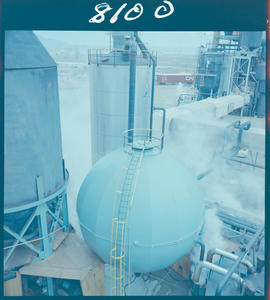 Vapourizer Sphere At Kamloops Pulp And Paper Mill