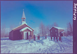 Church In Lower Post, Mile 620 Alaska Highway