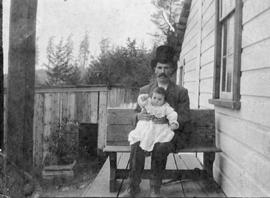 A Sooke father and child.