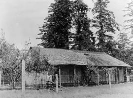 The home of Captain E. E. Langford in Colwood, near Victoria.