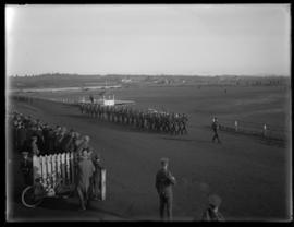 Inspection of troops, Willows camp