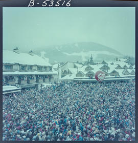 World Cup Skiing. Whistler Village