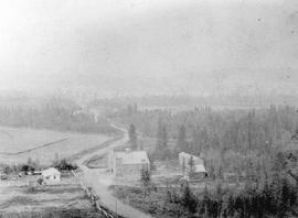 Fort Steele Looking East Showing Brewery