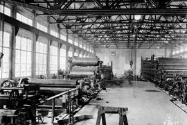 Ocean Falls pulp and paper mill; installing No. 3 and No. 4 paper machines