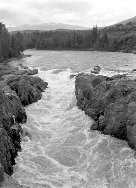 Bulkley River, Moricetown Falls And Canyon
