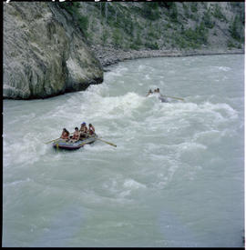 Rafting On Kicking Horse River Near Golden