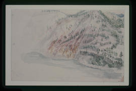 Coloured Rocks, Thompson River, 2 M. Above Lytton.