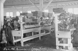 Richmond; BC Canneries; Filling Tables