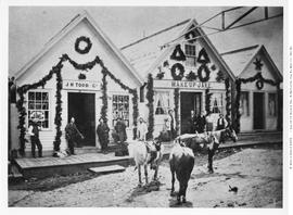 Wake-Up Jake Saloon And J.H. Todd And Co. Store, Barkerville