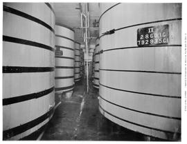 Fermentation tanks, Victoria Phoenix Brewery, Government Street at Discovery, Victoria