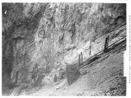 Lillooet; Golden Cache Mine, upper end of tramway.