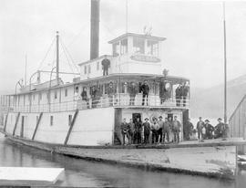 SS Nelson at Kaslo.