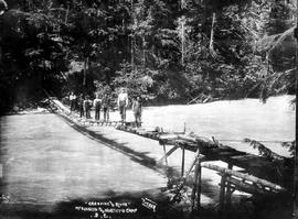 """Crossing the River, McKinnon and Northy's Camp, BC""; miscellaneous E album."