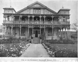 """One of the Governor's Residence, Dawson, Y.T."""