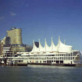 Canada Pavilion And Vancouver Harbour