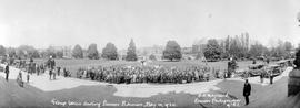 The First Pioneer Reunion At Victoria, On The Grounds Of The Legislative Buildings; BC Pioneers O...