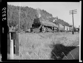 Canadian Pacific Railway Train At Golden