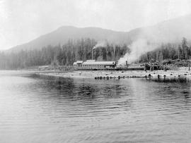 Queen Charlotte Islands Sawmill At Buckley Bay