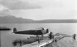 """Consolidated"" plane at Tatla Landing"